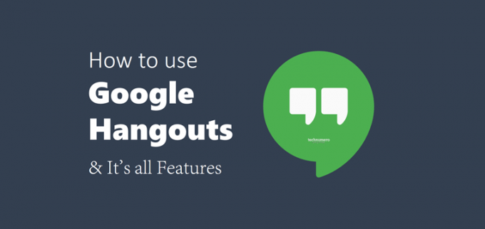 How to use Google Hangout and Its All Features
