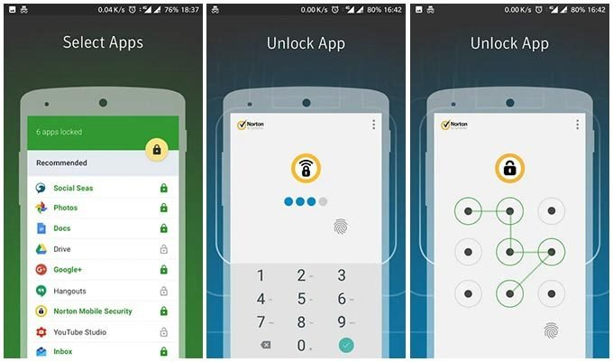 Norton App Lock – Android App Locker without ads