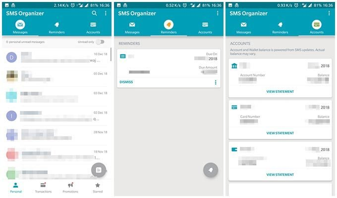 SMS Organizer by Microsoft – SMS App for Android