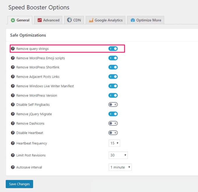 Speed Booster Pack - WP Plugin