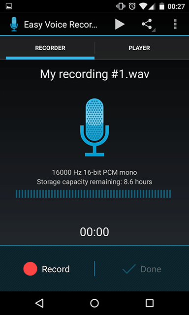 easy-voice-recorder-home