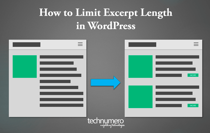 How to Limit Excerpt Length in WordPress - Technumero