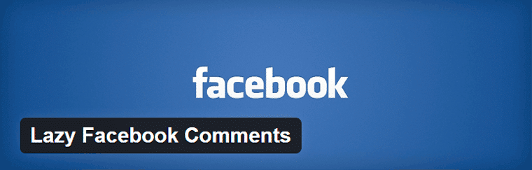 Lazy Facebook Comments Plugin WordPress