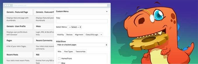 Widget Options Plugin to Show or Hide Widgets on Specific Pages in WordPress