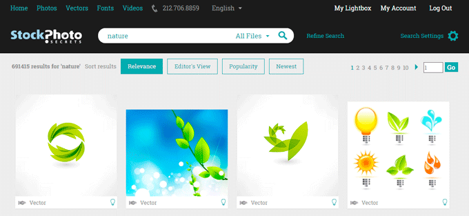 99 Club Stock Photos Search Results for Nature Keyword