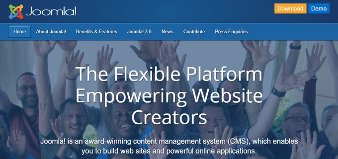 Joomla - A Self-hosted Website Management Solution