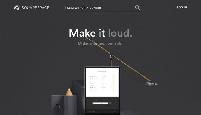 Squarespace - A Website Builder Based Service