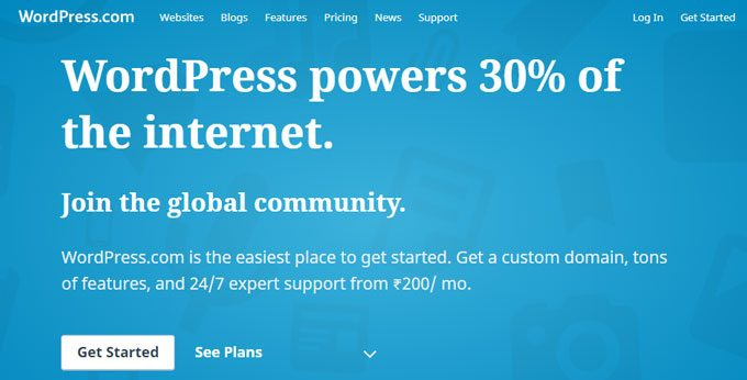 WordPress.com - Free Blogging Platform by Automattic