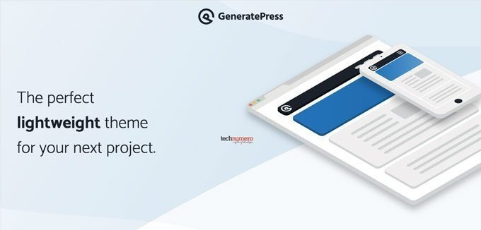 GeneratePress - Lightweight, Responsive WordPress Theme