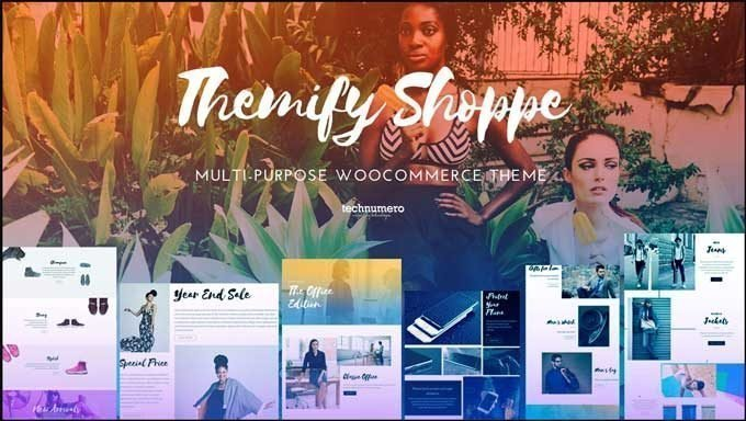 Shoppe - Multi-purpose WooCommerce Theme