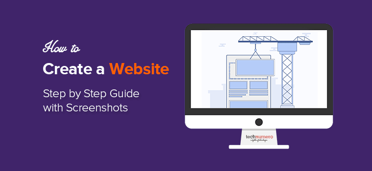 How to Create a Website in 4 Easy Steps - Beginners' Guide