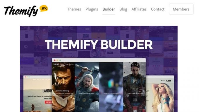Themify Builder - Best WordPress Drag and Drop Page Builder