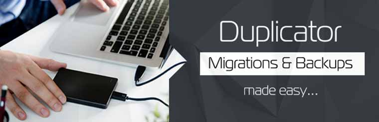Duplicator: WordPress Migrations & Backups Made Easy