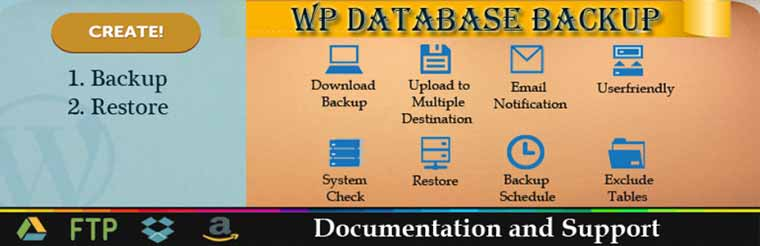 WP Database Backup: Another WordPress Database Backup Plugin