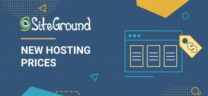 SiteGround Price Increase