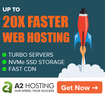 A2 Hosting - 66% OFF on Turbo (Up To 20X Faster) Hosting