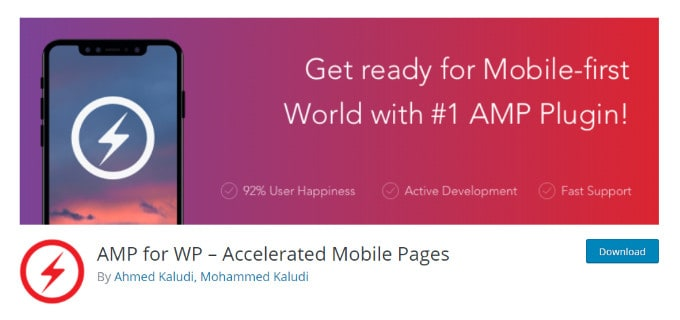 AMP for WP Accelerated Mobile Pages
