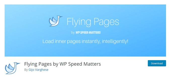 Flying Pages - Instantly Load Inner Page of Your Site