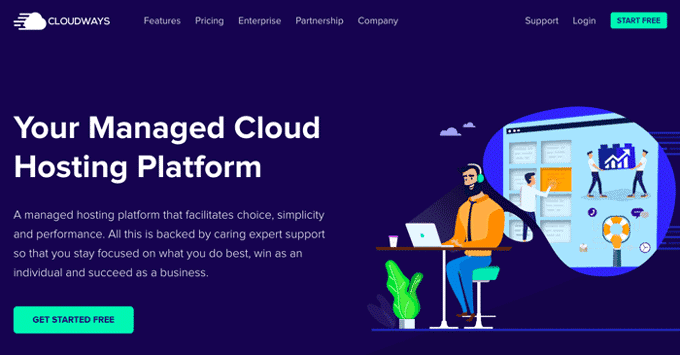 Managed Cloud Hosting for High Performance Sites - Cloudways