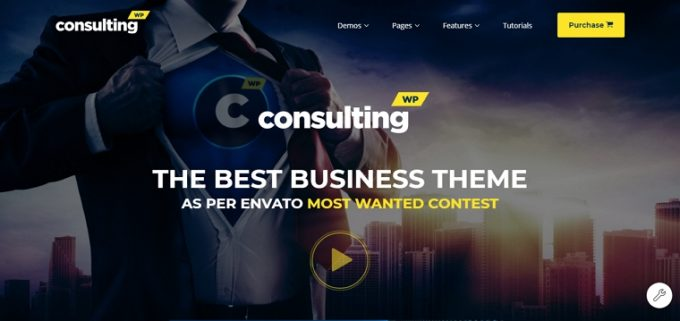 Best Business/Finance Theme for Consultants - Consulting