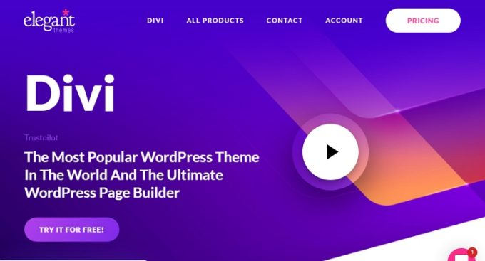The Best Business Theme with Visual Builder - Divi